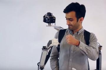 Fusion: Wearable Telepresence Collaborative Robot