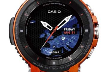 Casio PRO TREK Smart Watch with Dual Layer Display