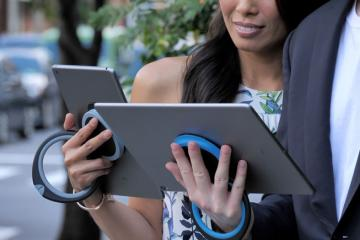 Handle Plus: Stand, Handle & Hanger for Tablets
