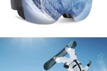 OhO 4K 24MP Ski Goggles