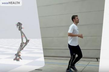 Xenoma's e-skin Pants with Magnetometer-free Motion Tracking