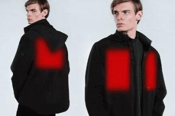 Urban Tech Heated Jacket Heats Up in 10 Seconds