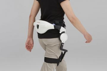 Honda's Walking Assist Device for People with Parkinson's Disease
