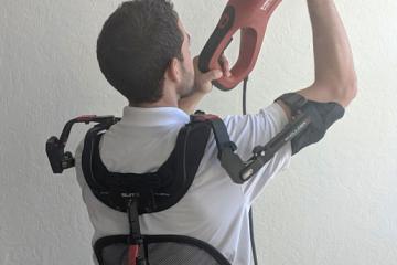 shoulderX: Shoulder Supporting Exoskeleton