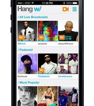 Hang w/ for Google Glass