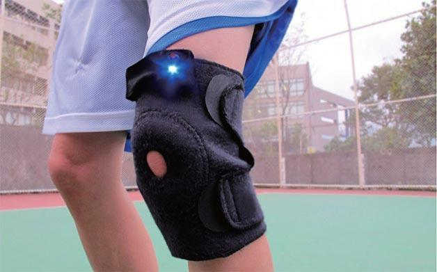 Wearable Energy Storage Heating Knee Pad For Athletes