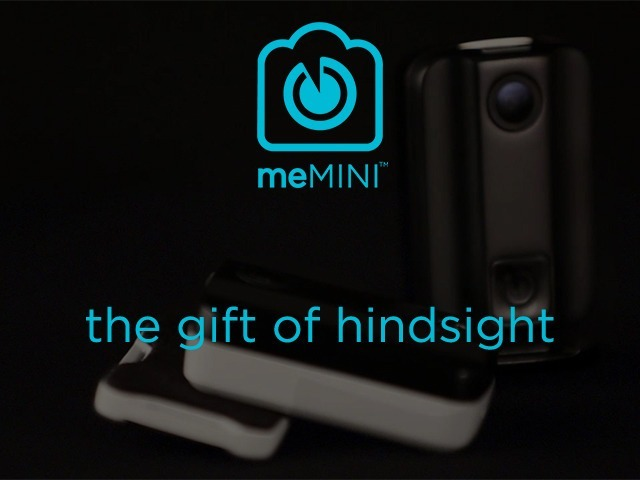 meMINI: Wearable Camera Captures Your Favorite Moments