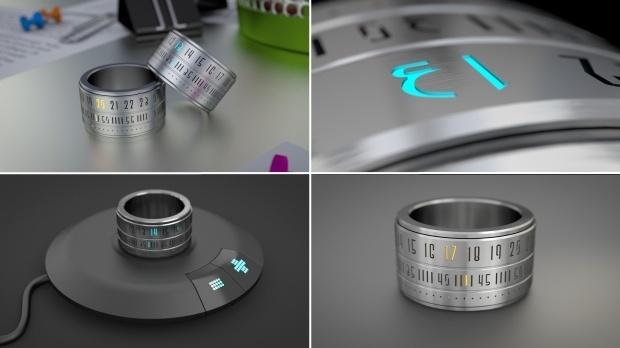 Ring Clock: Ring + Watch
