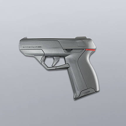iP1 Pistol Smart Gun Does Not Fire Without Its Watch