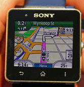 Garmin Navigation App For Sony SmartWatch 2