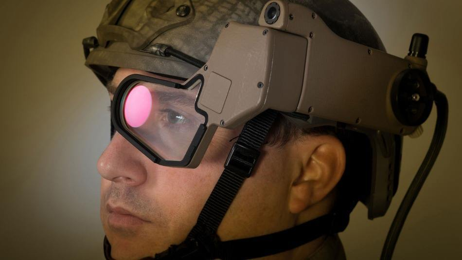 Military Google Glass for Soldiers