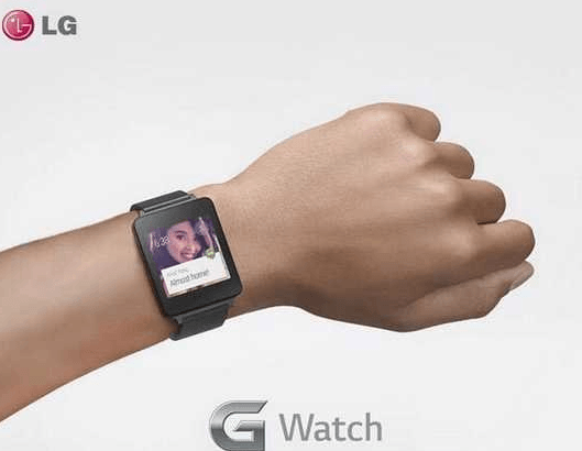 LG's G Watch Revealed