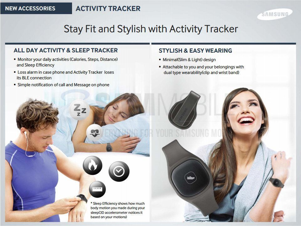 Samsung To Release a S Band Activity Tracker