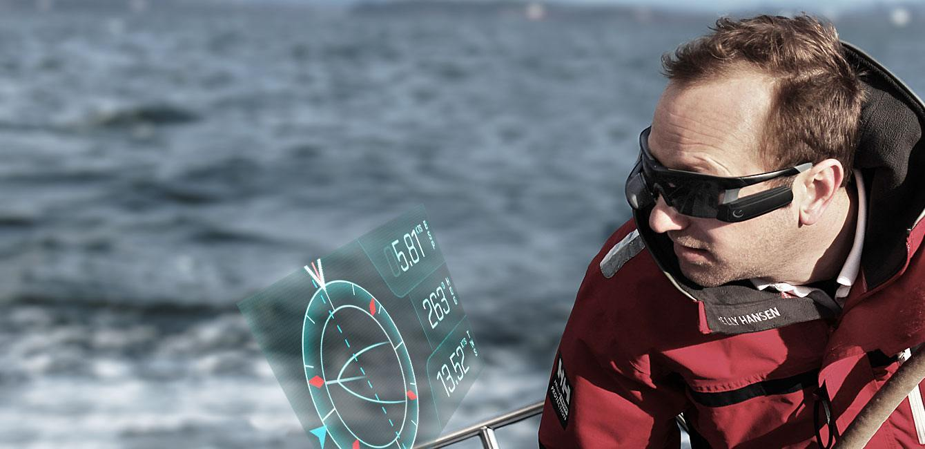 AfterGuard: Google Glass Like Device for Sailing
