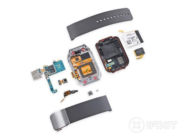 Samsung Gear 2 Teardown: Repairability Score of 8 out of 10