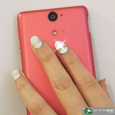 Lumi Deco LED Fingernails Flash Near NFC Signal