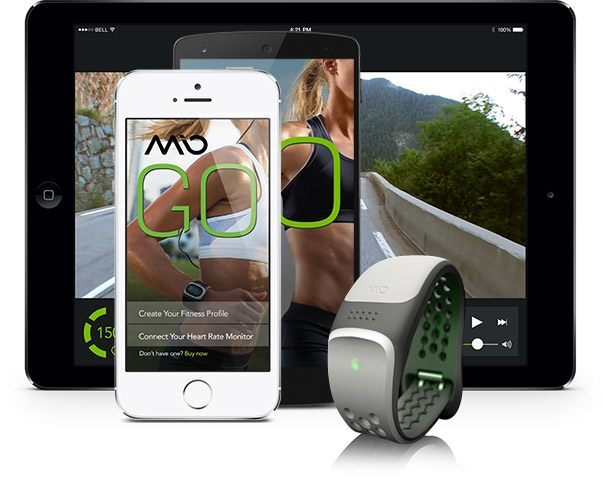 Mio LINK: Heart Rate Monitor Wristband