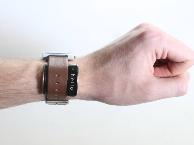 Glance: Smart Watch Accessory + Motion Sensing + Activity Tracking
