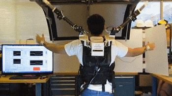 Shoulder-Mounted Robotic Arms by MIT