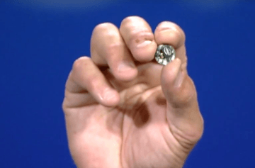 Intel Curie: Button-size Device to Power Wearables