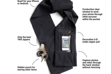 Peepsnake Thermocore iPhone 6 Scarf