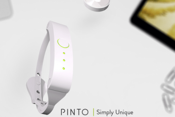 Pinto Wearable Storage Device + Bluetooth