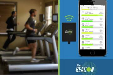 Run Beacon Records Your Speed, Pace On a Treadmill