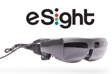 eSight Electronic Glasses Help the Legally-Blind See