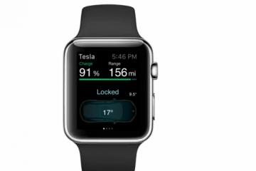 Apple Watch App for Tesla Model S Cars