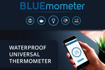 BLUEmometer Waterproof Thermometer [iOS/Android]