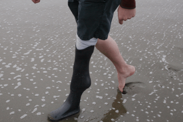 Standard Cyborg 3d Printed Leg – $499