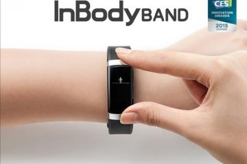 InBody Band Wearable Analyzes Your Body Composition