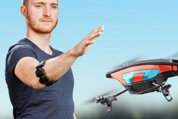 Thalmic Labs Myo Gesture Control Armband on Amazon