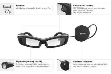 SmartEyeglass SED-E1 Augmented Reality Glasses