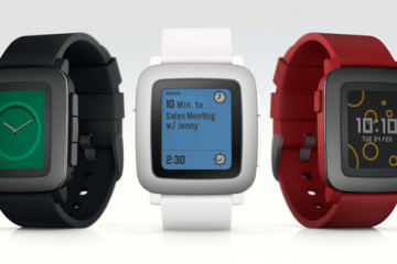 Pebble Time Color ePaper Smartwatch