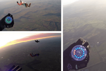 Tritium Skydiving Altimeter Wearable