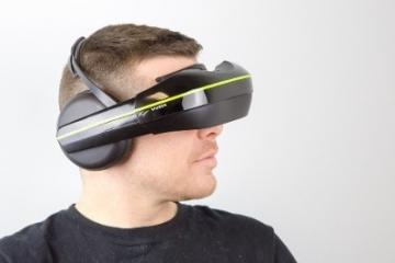 Vuzix IWear 720 Video Headphones with VR