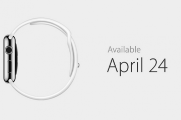 Apple Watch: 18-hour Battery Life, Coming on April 24th