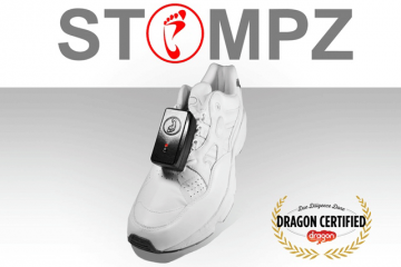 Stompz: Virtual Reality Input Device for Your Feet