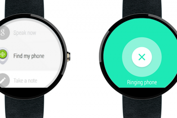 Find Your Smartphone Using an Android Wear Watch