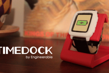 TIMEDOCK Charging Dock for Pebble Time & Steel