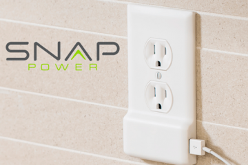 SnapPower Charger: Add a USB Charger To Your Wall Outlet