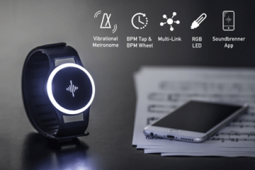 Soundbrenner Pulse: Wearable Device for Musicians