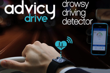 Advicy Drive: Wearable Keeps Drivers Awake