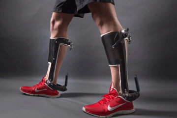 Unpowered Ankle Exoskeleton Makes Walking Easier