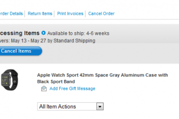 Apple Watch Already Backordered