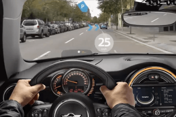 MINI Augmented Vision Glasses for Drivers