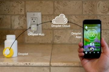 Droplet: Smart Wireless Button / Reminder