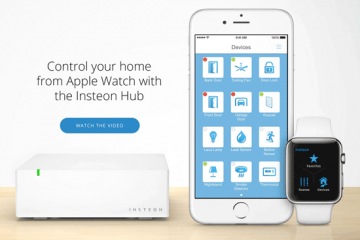 Insteon Home Automation w/ Apple Watch