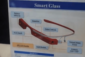 Allwinner Smart Glass w/ WiFi/Bluetooth/GPS
